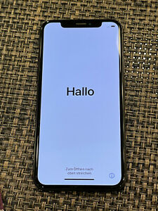 Apple iPhone X - 64GB - Space Gray (Unlocked) A1901 (GSM) (CA)
