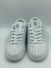 K-Swiss Classic Varsity White Youth Leather Shoes 83643-131-M Low Kids Size 4