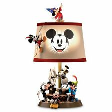 Disney Mickey Mouse Through The Years Sculptural table lamp by Bradford Exchange