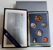 1988 SPECIMEN SET - ROYAL CANADIAN MINT 6-COIN SET - ORIGINAL CASE & CERTIFICATE