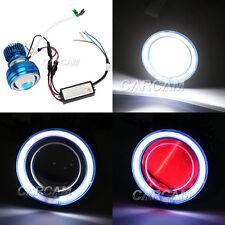 Headlight White Halo Projector Devil eye For Suzuki GSXR 600 750 1000 Hayabusa