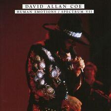 David Allan Coe - Human Emotions/Spectrum Vii [New CD]