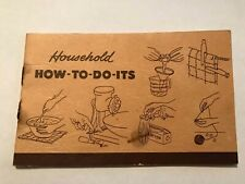 VTG Yellow Pages Ad Booklet Household How-To-Do-Its Northwestern Bell Telephone