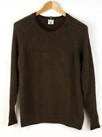 COLUMBIA Men Sweater Jumper Cardigan Size M AFZ833