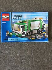 LEGO City Set 4432 Garbage Truck Manual & Minifigures 2012 Retired Missing 1 pc