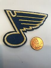 """ST. LOUIS BLUES  HOCKEY TEAM  Embroidered Iron On Patch 3"""" X 2"""""""