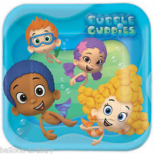 8 Bubble Guppies Children's Birthday Party Disposable Large 23cm Paper Plates
