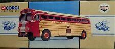 Corgi Classic Bus Burlington Trailways Destination Los Angeles 98465 New!