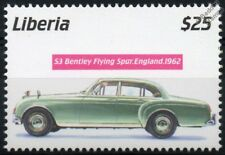 1962 BENTLEY S3 Flying Spur GB Comme neuf (NEUF SANS CHARNIÈRE) automobile voiture TIMBRE (2001 Libéria)