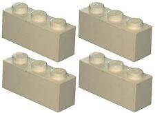 Missing Lego Brick 3622 White x 4 Brick 1 x 3