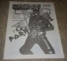 Porn Flakes Gwar Toledo Ohio Glass Eye Magazine w Vanilla ice interview 1998 old