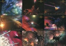 Babylon 5 Coming of Shadows Chase Card Set 9 Cards 1996
