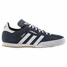 Adidas Originals Samba Super Suede Mens Trainers Casual Shoes Navy UK sizes