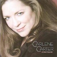 FREE US SHIP. on ANY 3+ CDs! ~Used,Very Good CD Carlene Carter: Stronger