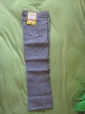 70's Vintage Wrangler Houndstooth Pattern Boys/Girls Size 10 Regular Pants Jeans