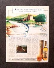 [GCG]  M637 - Advertising Pubblicità -1985- GLEN DEVERON SINGLE MALT WHISKY