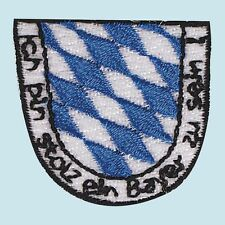 Patch Logo Application Quality 1 3/16x1 3/8in CREST STOLZ BAYER 02098