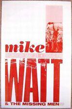 Mike Watt & Missing Men Minutemen 2009 Gig Poster Portland Oregon Concert