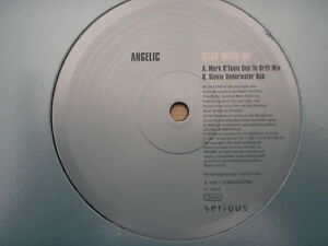 """Angelic - Stay With Me Promo 12"""" Serious SERRO35T2PRO Mark O'Tool Sionix Dubs"""