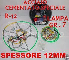Catene da neve Da 12MM Lampa Gr.7 16027 BMW Serie 3 Pneumatico 185/65R15