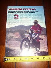 1980 YAMAHA XT250 G - ORIGINAL ARTICLE