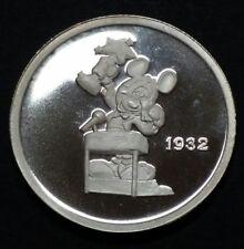 Hollywood Mickey 1 Oz Fine Silver Coin Mickey Mouse Academy Award Rarities Mint