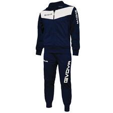Tuta Givova Visa Uomo/donna Calcio calcetto Allenamento Palestra Sport Running Blu-bianco M