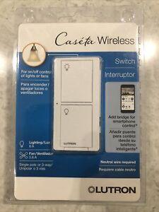 Lutron Caseta Wireless Switch PD-6ANS-WH-R