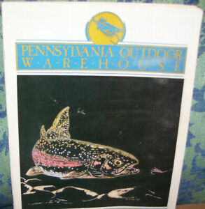 1994 Pennsylvania Outdoor Warehouse  Fishing Catalog in Color Over 90 Pg's