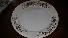 "Antique Turner Brown Transfer Transferware Ironstone 9 1/2"" Plate"