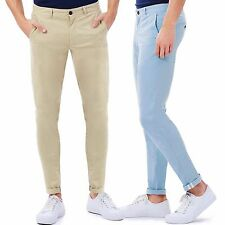 Pantaloni Chino Uomo Slim Fit Aderenti Cotone Elastico Comfort GIROGAMA 3916P