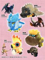 Monster Hunter: World MHW Uragaan Lunastra Bazelgeuse Plush Doll Soft Toys Gift