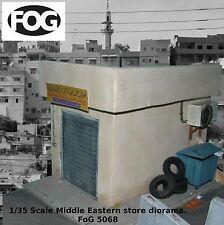 1/35 Scale Mid Eastern store / garage diorama kit - Iraq / Afghan military model