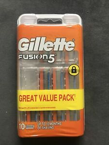 Gillette Fusion 5 Razor Blades - Pack of 10