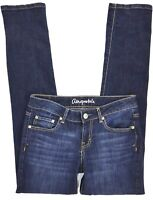 AEROPOSTALE BAYLA Skinny Women's Dark Wash Jean Size 4 Stretch EC