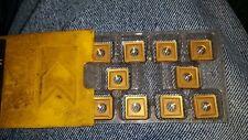 10 PCS KENNAMETAL CARBIDE INSERTS SNMP 433 KC850