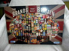 The Brands That Built Britain Jigsaw 1000 Pieces. Completed Once