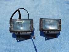 1965 FORD GALAXIE PARKING LIGHT ASSEMBIES WITH LENS PAIR