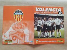 Album Panini Valencia 2000 01 Completo New