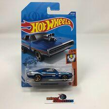 '70 Dodge Charger R/T #249 * BLUE * 2020 Hot Wheels * WF14