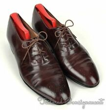 BALLY Solid Brown Leather Classic Brogues Oxford Mens Dress Shoes - 9 D