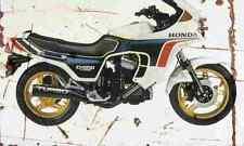 Honda CX650 Turbo 1983 Aged Vintage Photo Print A4 Retro poster