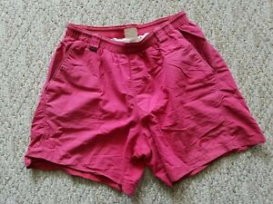 Rare Simms Men's Baggie Shorts Fly Fishing Swim Trunks Color Red Size Large L