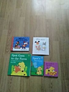 3 Spot the Dog Books, Maisys Christmas Eve and Picnic Young Children Kids