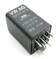 0522120503 Genuine VW Audi Seat Skoda Glow Plugs 9-Pin Black Relay 038907281B