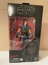 "Star Wars Black Series Cara Dune 6"" Inch New Mandalorian Hasbro"