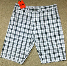 Nike sz 32 Men's Chino 6.0 Sb Shorts 465586 010 Black White Grey