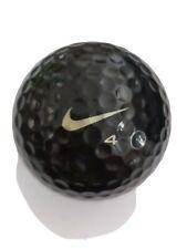 Nike one BLACK  golf ball solid black MINT never hit