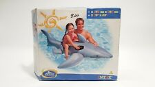VINTAGE INTEX Lil' Shark RIDE-ON INFLATABLE TOY Year 2004 *NEW*