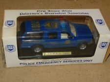 NEW JERSEY NJ STATE POLICE PBA DIECAST CHEVY SUBURBAN 1/24 TAYLOR MADE TRUCKS